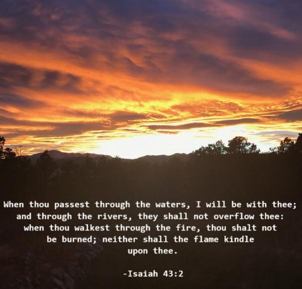 Isaiah 43 2